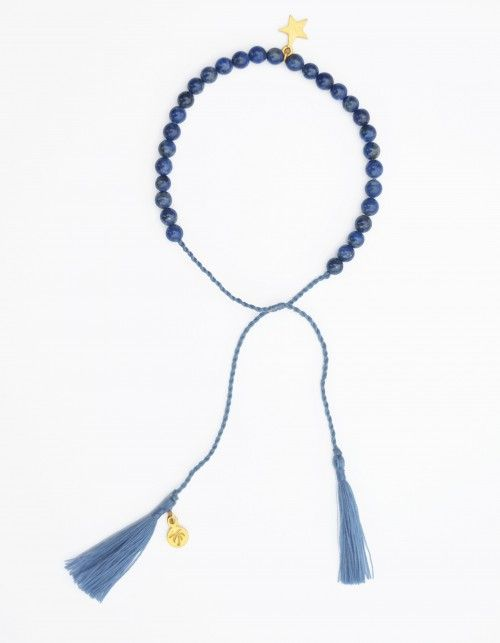 Bransoletka Stars of Java z kamienia lapis lazuli | Reach Beach | SHOWROOM Kids