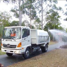 Water Trucks Tap into our water transportation network and we'll make sure you get as much water as you need, when you need it. Our fleet of water cartage trucks can deliver from 4000 to 9000 litres of potable or nonpotable water. We have access to fill-up stations in Brisbane, Moreton Bay and Gold Coast locations. All non-potable water trucks are accredited with Queensland Water Recycling Guidelines and Rivercity staff are qualified in the safe handling of recycled water.