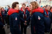 The Princess Royal during the Team GB Welcome ceremony during the 2014 Sochi Olympic Games