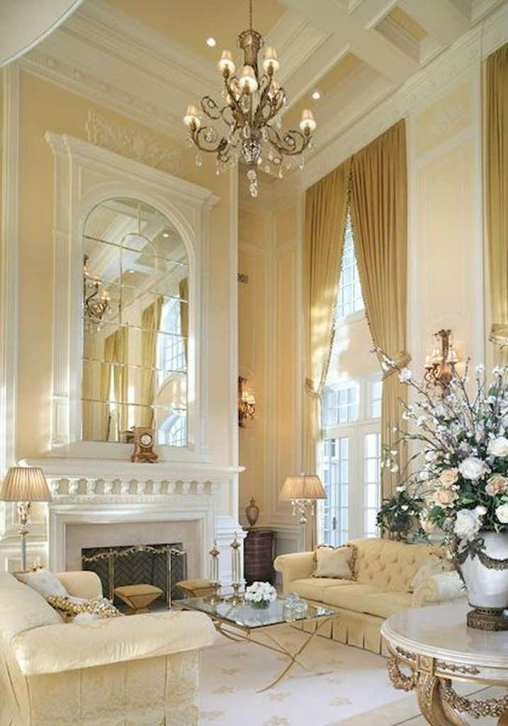 Beautifully Decorated Living Rooms For Christmas With Vaulted Systems: The 25+ Best French Country Living Room Ideas On Pinterest