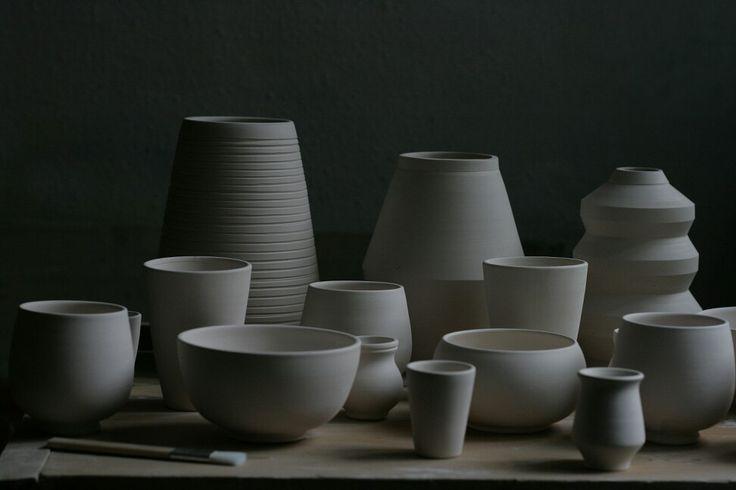 Kezemura handmade ceramics vases mugs design facebook.com/kezemura instagram.com/kezemura