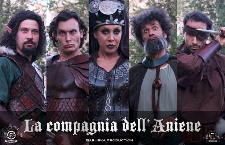 Una strampalata compagnia di eroi originaria delle lande di Maccarese. #LaCompagniaDellAniene #bandoMovielnad