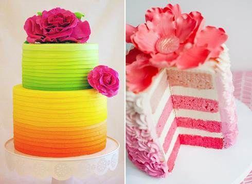 Torte colorate - Fotogallery Donnaclick