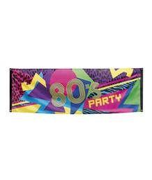 Jaren 80 feest in de groep THEMAFEESTEN bij SEP Feestartikelen