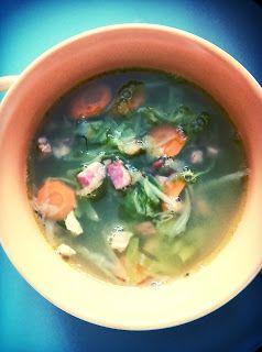 Sielskie Marzenia Sielskie Miejsce: Zupa z młodej kapusty...