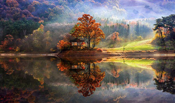 Les paysages avec des reflets de Corée du sud par Jaewoon U - http://www.2tout2rien.fr/les-paysages-avec-des-reflets-par-jaewoon-u/