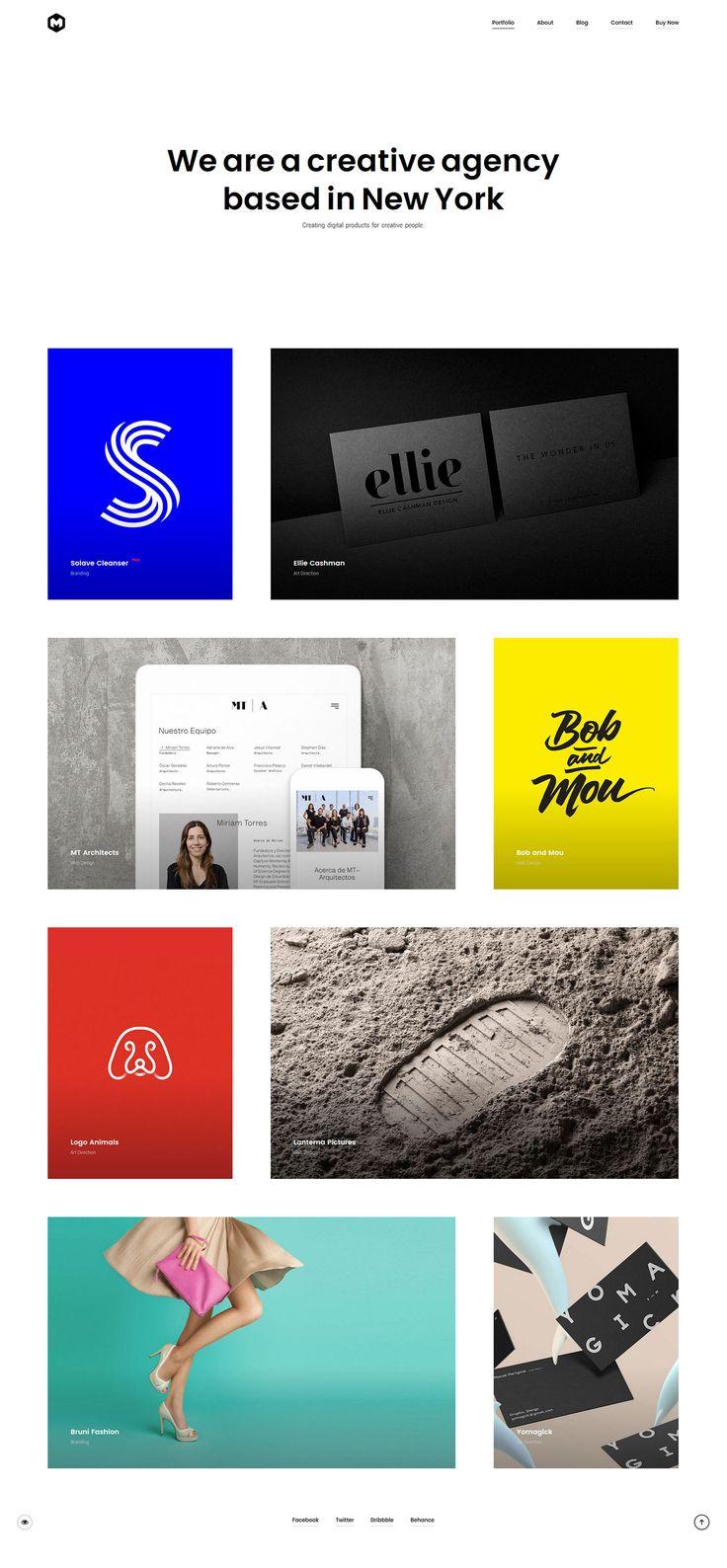 Maestro - Modern Portfolio Showcase WordPress Theme Website