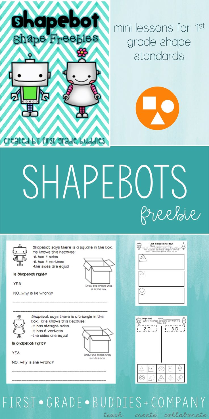 47 best Shapes images on Pinterest | Exit tickets, Assessment and ...