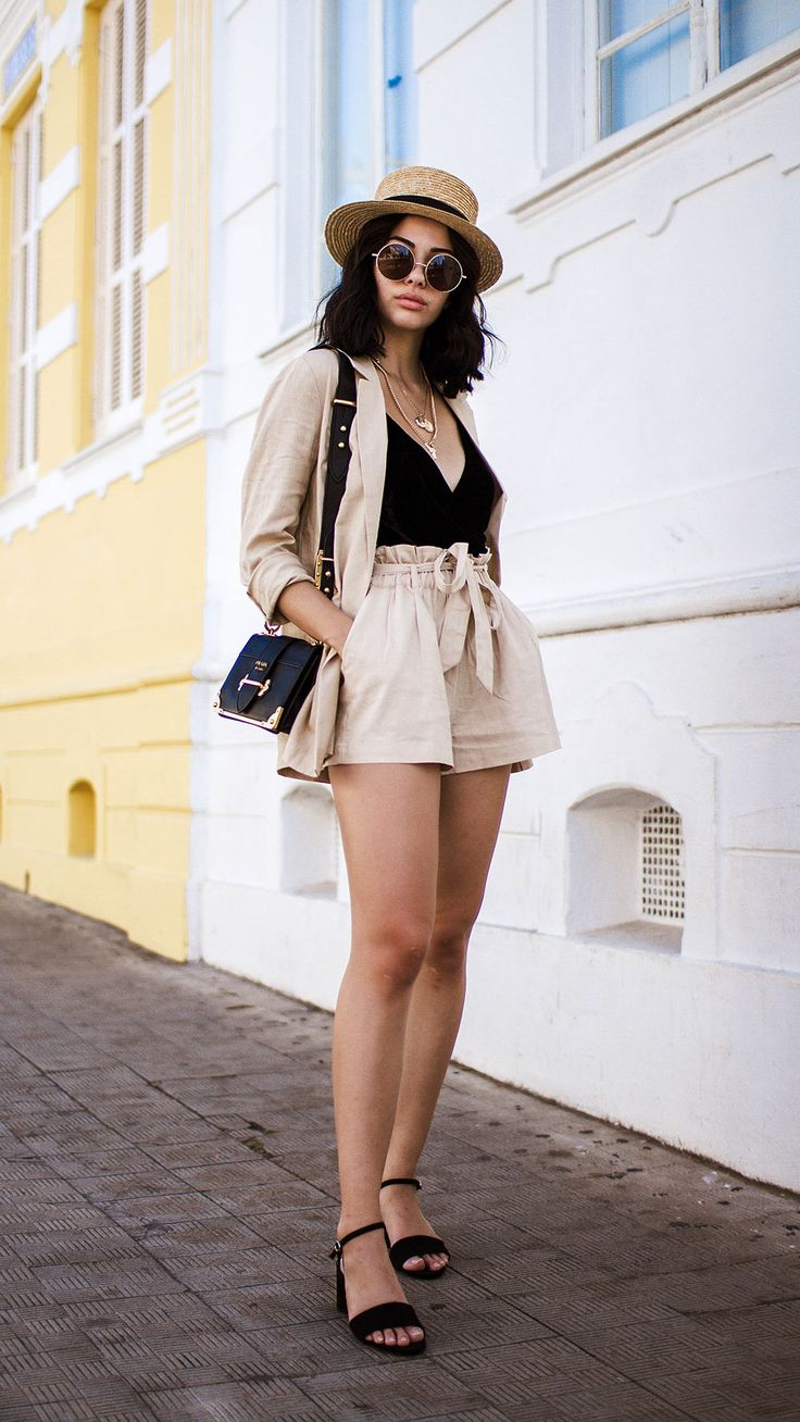 Two Piece Blazer and Shorts Set #summer #summerstyle #summeroutfits #outfit #out... 2