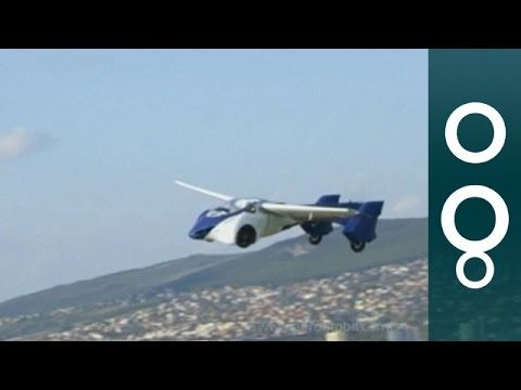 Slovakian AeroMobil Takes You From Road To Sky - Hi-Tech - YouTube
