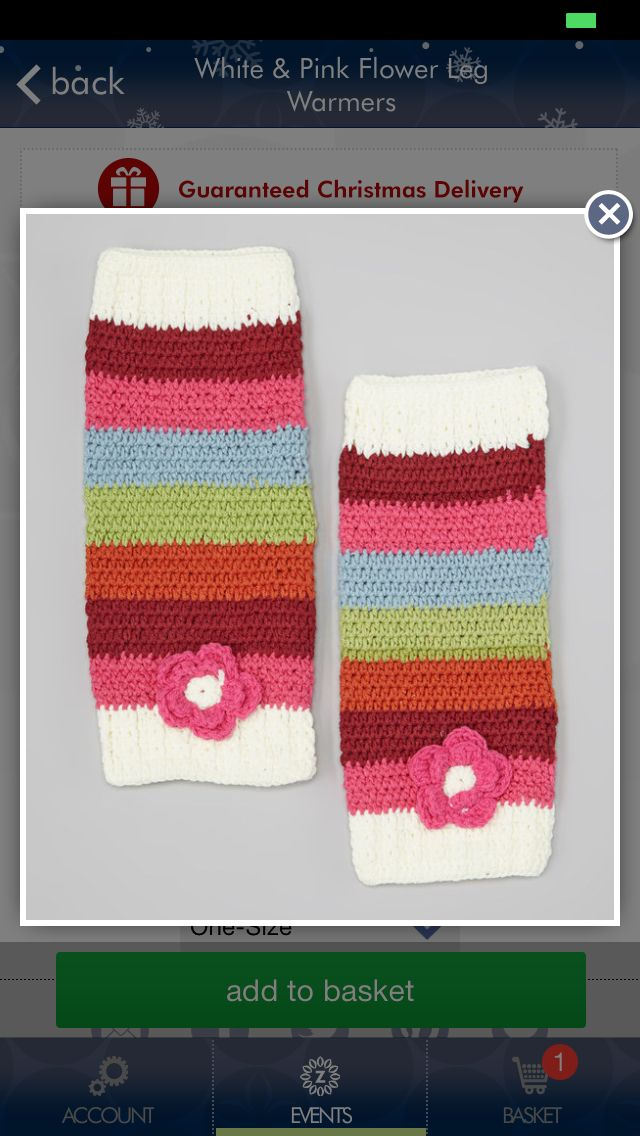 Crochet leg warmer idea