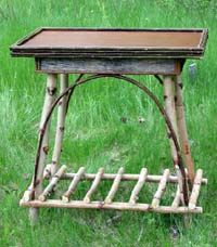 Adirondack Twig furniture | ... Furniture: Beds, Cabinets, Tables, Chairs, Mirrors, Clocks, Hat Racks