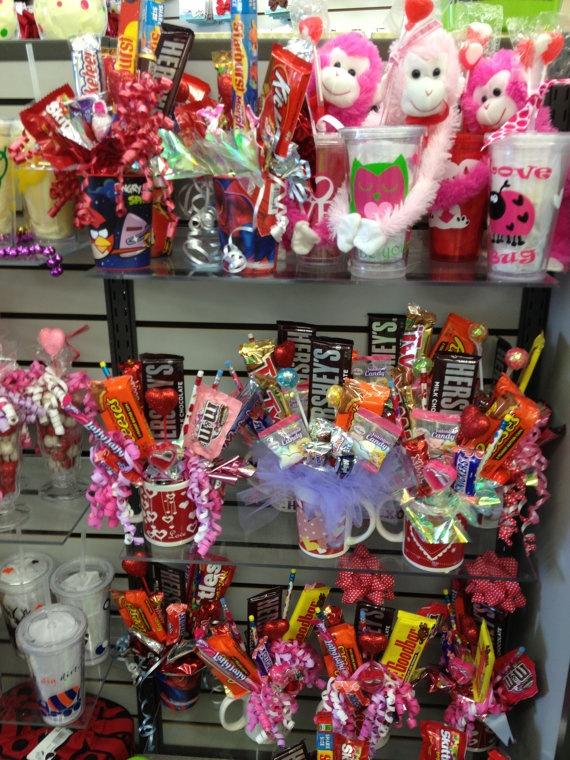 Valentines Birthday Candy Bouquet Gift Boys by bellababychildren, $14.00