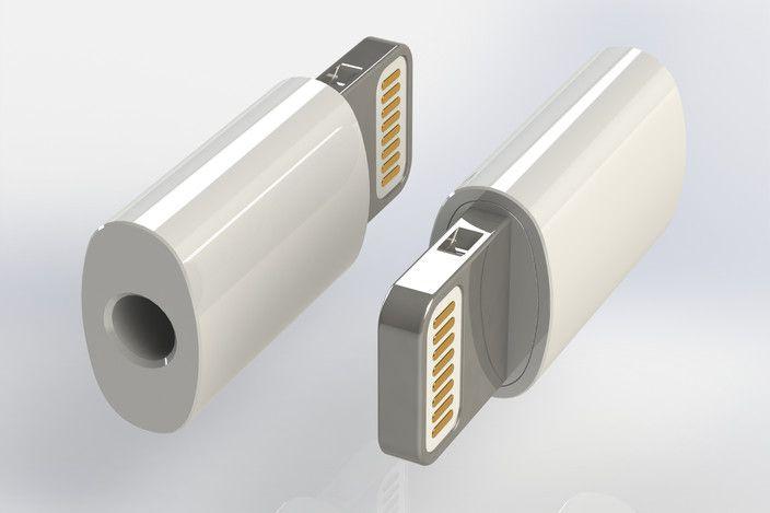 Apple Lightning Connector - Parasolid, STL, STEP / IGES, SOLIDWORKS, Other - 3D CAD model - GrabCAD