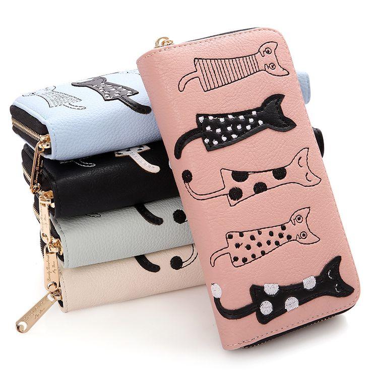 $7.63 (Buy here: https://alitems.com/g/1e8d114494ebda23ff8b16525dc3e8/?i=5&ulp=https%3A%2F%2Fwww.aliexpress.com%2Fitem%2FFashion-Women-Purses-Cards-Holder-Clutch-Lady-Wallets-Zipper-Money-Bag-Cat-Coin-Purse-Long-Moneybags%2F32789404550.html ) Fashion Women Purses Cards Holder Clutch Lady Wallets Zipper Money Bag Cat Coin Purse Long Moneybags Girls Handbags Female Burse for just $7.63