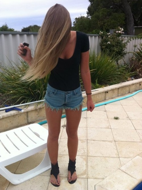 #ombre #hair: Shoes, Summer Outfit, Summer Night Outfit, Ombre Hairs, Styles, Sandals, Perfect Outfit, Long Hairs, Hairs 3