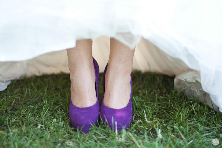 Custom-made Purple Wedding Shoes Portfolio | Zukistudio