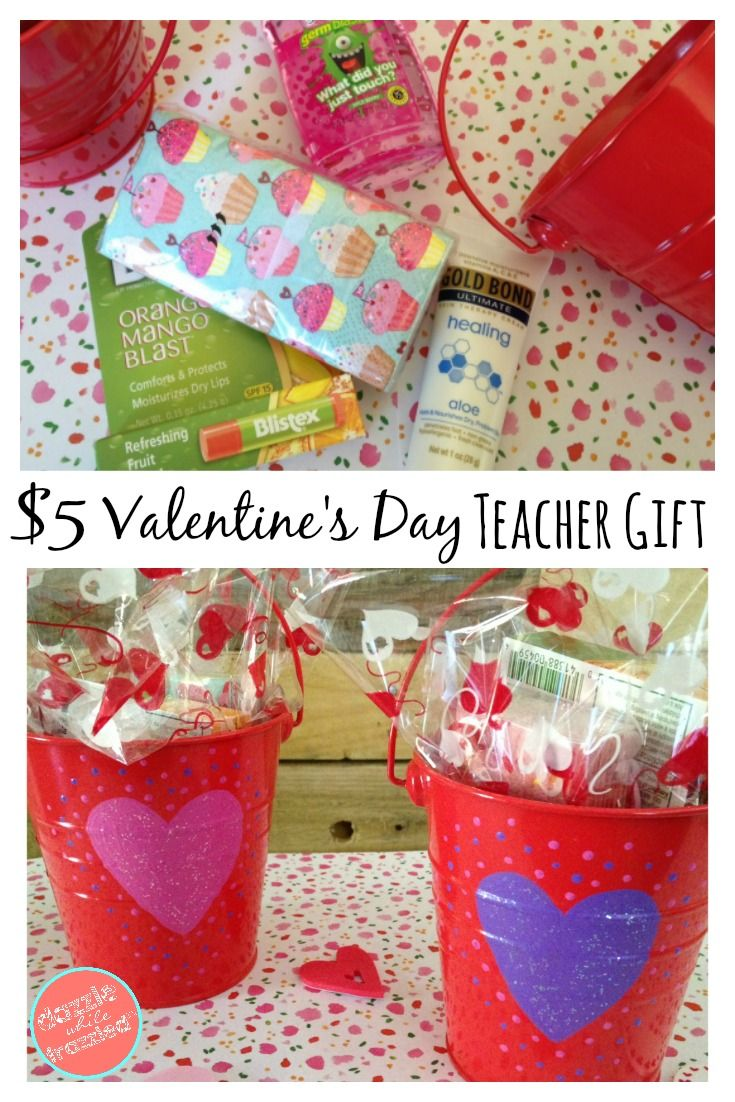 diy 5 valentines day gift for teachers - Valentines Day Ideas For Teachers