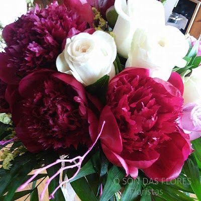 Ó son das flores:  Ramos llenos de luz y delicadeza en muchosmomento...