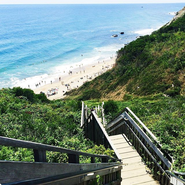 View of the Day: Mohegan Bluffs, Block Island, Rhode Island