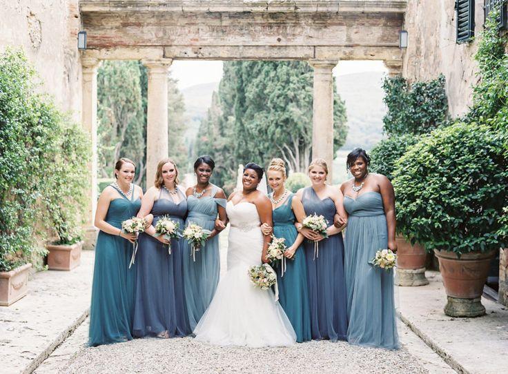 Intimate Tuscan Wedding   Florence Engagement Gallery   Style Me Pretty   dress by Essense of Australia291 best Real Weddings  Bridesmaids  images on Pinterest  . Destination Wedding Bridesmaids Dresses. Home Design Ideas