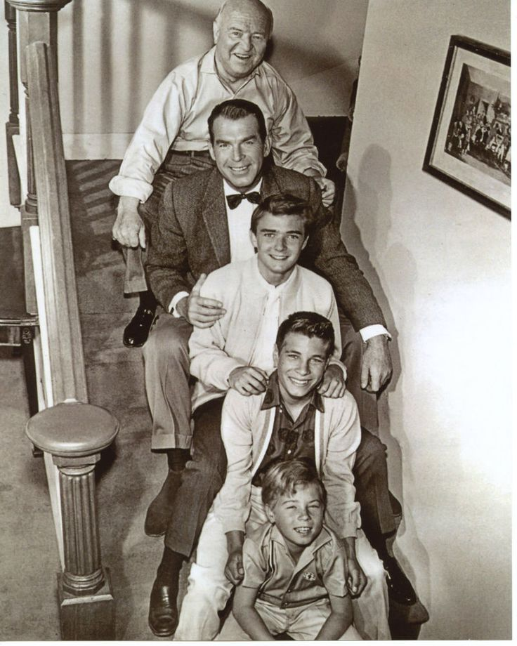 My Three Sons Tim Considine Don Grady Fred MacMurray  8x10 photo R1683