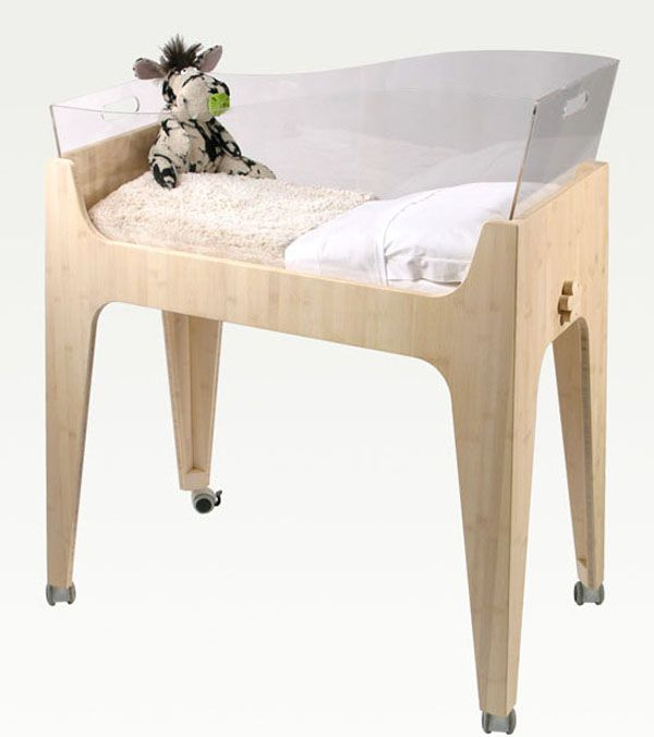 French company Castor & Chouca came up with this beautiful and eco-friendly collection of baby furniture.