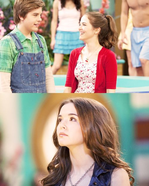 Zoey  as  Maya Bennett  in  The Suite Life On Deck