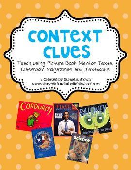 Context Clues using Picture Books (Part 1)