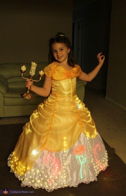 Electrical Light Parade inspired Belle Costume | Homemade ...