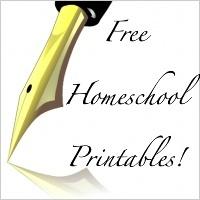 Free Homeschool Printables!