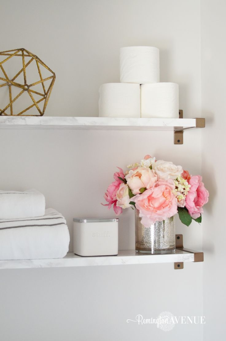 Decorating Small Shelves In Living Room: Best 25+ Decorating Bathroom Shelves Ideas On Pinterest