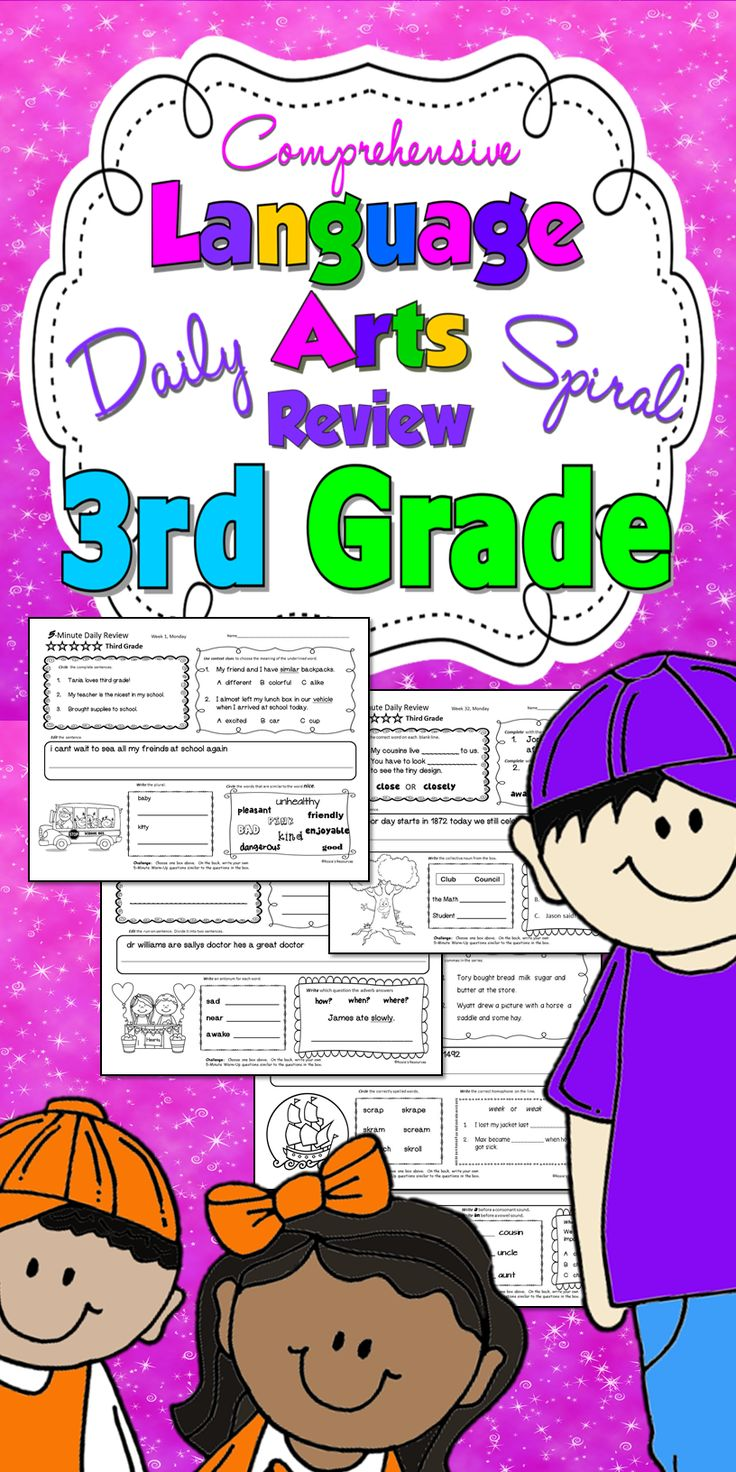 Daily Language Review for Third Grade. Great bell work to teach and review all Common Core and TEKS language objectives. Kids love it, and so do teachers!