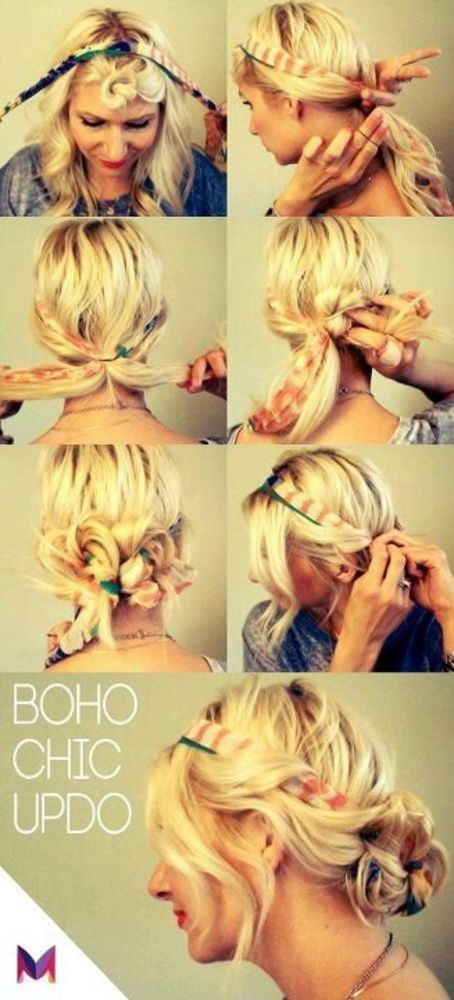 How To Use A Scarf In Hair Beautiful Boho
