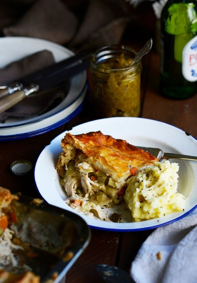 From The Kitchen: Cheat's Chicken Pie