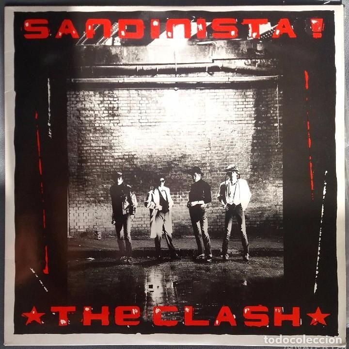 THE CLASH - 3LP SANDINISTA. CBS 1980 (Música - Discos - LP Vinilo - Pop - Rock - Extranjero de los 70)