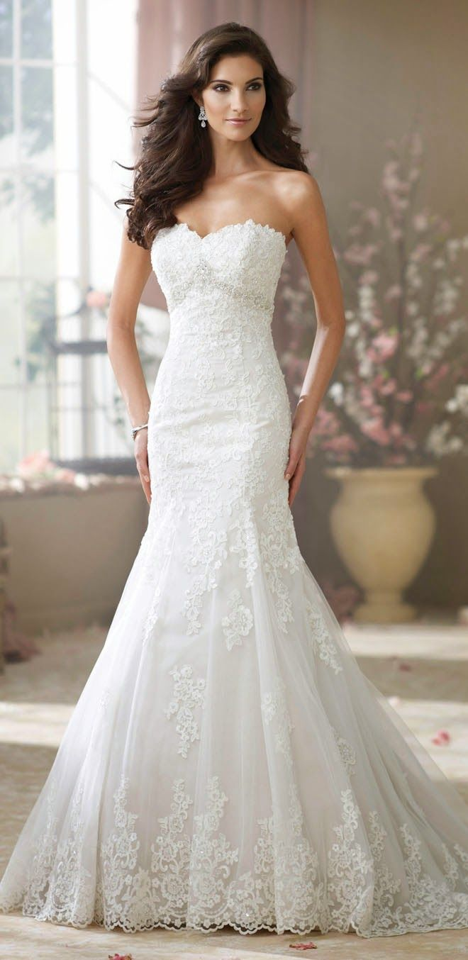 David Tutera for Mon Cheri Fall 2014 Bridal Collection - Belle the Magazine . The Wedding Blog For The Sophisticated Bride