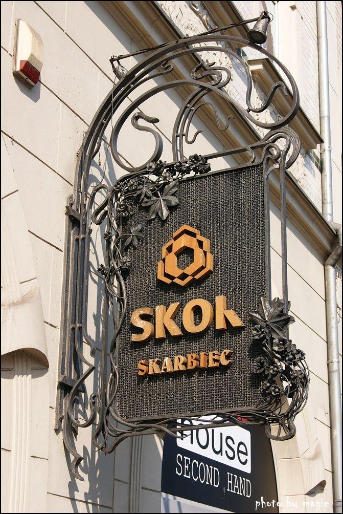 TARNOWSKIE GÓRY. Tarnogórskie szyldy/Tarnowskie Góry signboards.