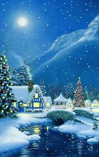 Imágenes Animadas Árboles de Navidad - 1000 Gifs
