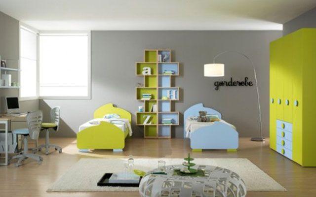 17 mejores ideas sobre dormitorios compartidos para ni os - Dormitorios infantiles mixtos ...