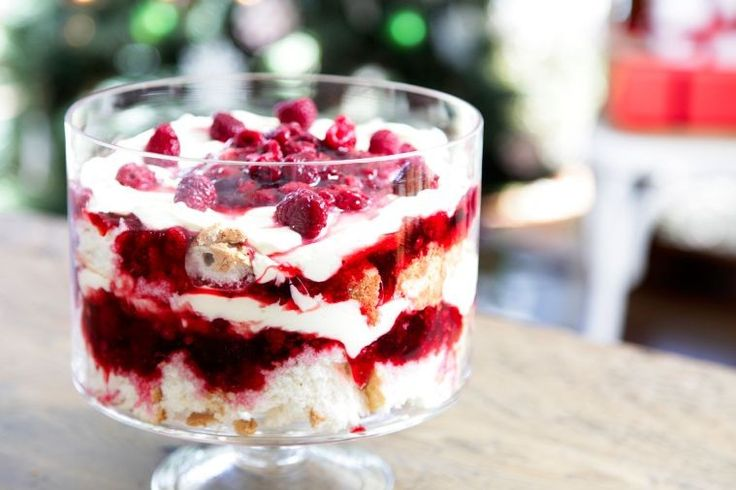 A creamy twist on the classic English summer pudding.
