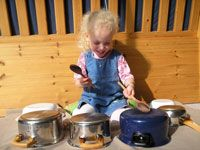 Muziekinstrumenten maken - peuters kleuters - regenkoker