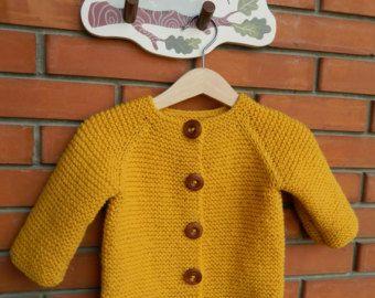 TRANSPORTE URGENTE Primavera de punto bebé suéter por RodiAndSuzi