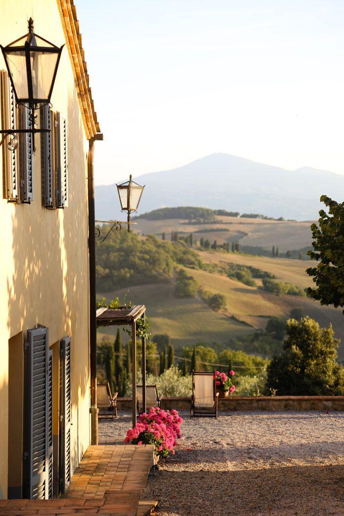 """""""il Sapore unico e ineguagliabile dei Luoghi d'Italia"""" - Panorama Toscano - La Toscana è una delle 20 Straordinarie Regioni d'Italia. - #assaggialitalia -  3 tuscany - hither and thither"""