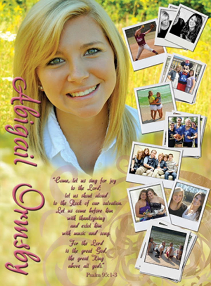 72 best senior tribute ad ideas images on pinterest graduation ideas yearbook ideas and for Senior ads ideas