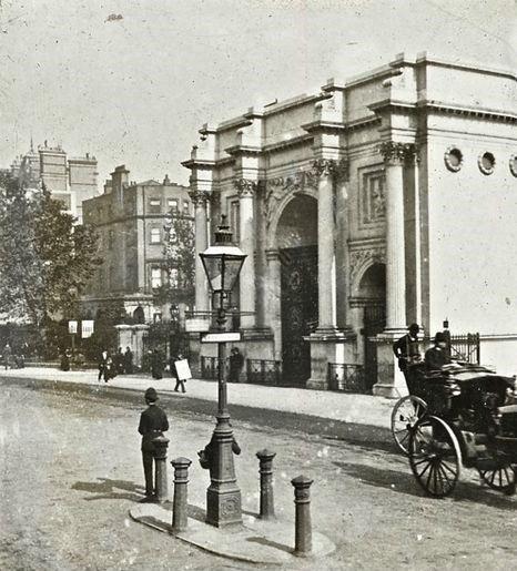 VINTAGE LONDON: Marble Arch, c.1900