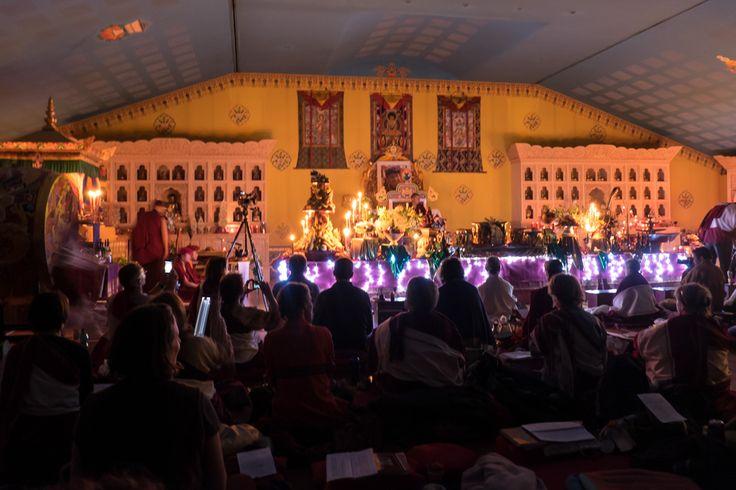 Cérémonies du nouvel an au temple