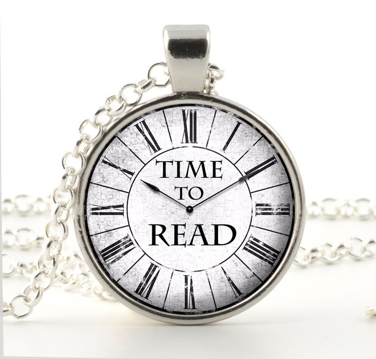 Watch Time Quotes: Time To Read Pendant