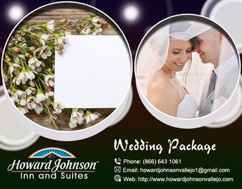 Howard Johnson is one of the best hotel & restaurant in Vallejo, they provide an excellent wedding package for wedding couple. https://goo.gl/Ia3l5w