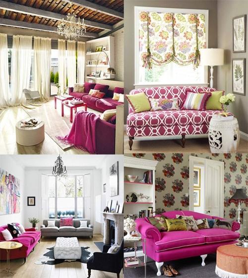 me gustan los sillones rosas